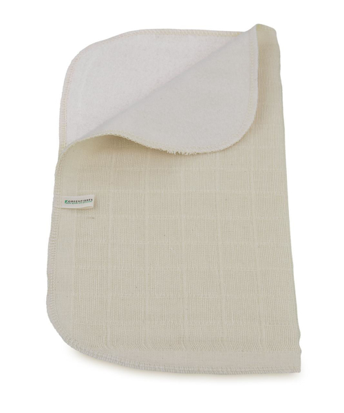 Picture of Organic Cotton Muslin cloth. Double sided