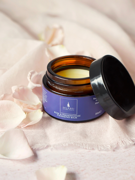 Picture of Rose and Frankincense Facial Cleansing Balm