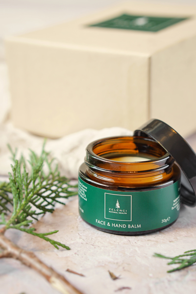 Picture of Hand and Face Balm with Gift Box